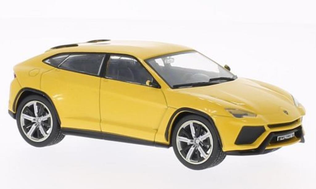 Lamborghini Urus 1/43 WhiteBox giallo 2012 modellino in miniatura