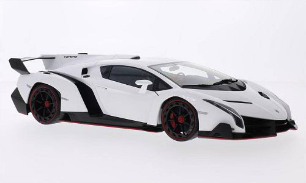 Lamborghini Veneno 1/18 Autoart white 2013 diecast