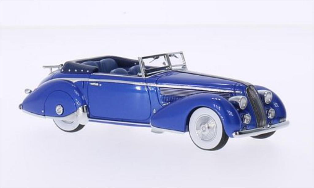 Lancia Astura 1/43 Minichamps Tipo 233 Corto metallic-bleu 1936 miniature