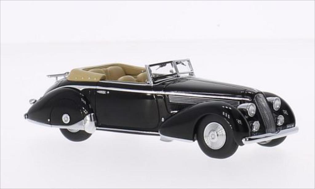 Lancia Astura 1/43 Minichamps Tipo 233 Corto noire RHD 1936 miniature