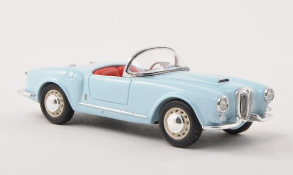 Lancia Aurelia B24 1/43 Spark Spider bleu 1955 miniature