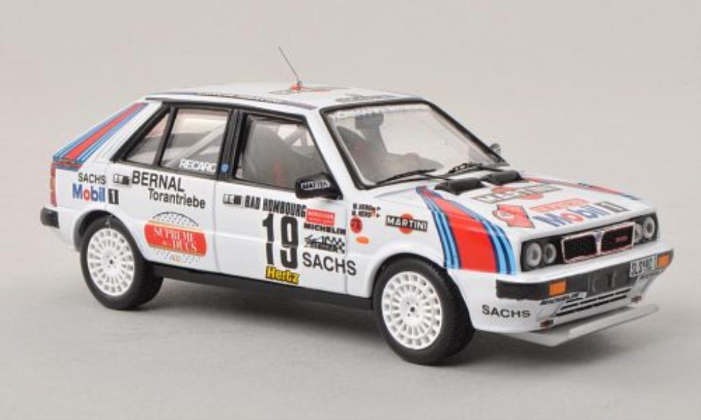 Lancia Delta 1/43 Trofeu HF 4WD No.19 Martini Rally Monte Carlo 1987 /W.Hero miniature