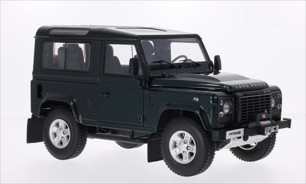 Land Rover Defender 1/18 Kyosho 90 metallic-green/black