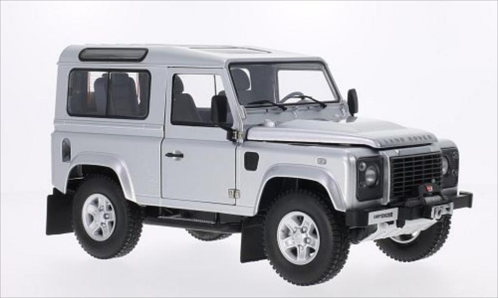 Land Rover Defender 1/18 Kyosho 90 grise/noire miniature