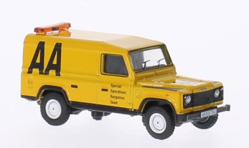 Land Rover Defender 1/76 Oxford AA diecast model cars
