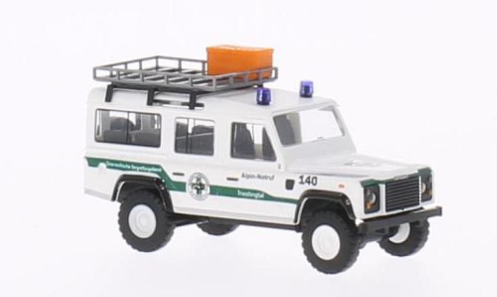 Land Rover Defender 1/87 Busch Alpin-Notruf Triestingtal diecast