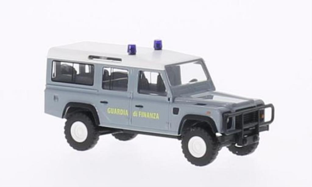 Land Rover Defender 1/87 Busch Guardia di Finanza Polizei (IT) miniatura
