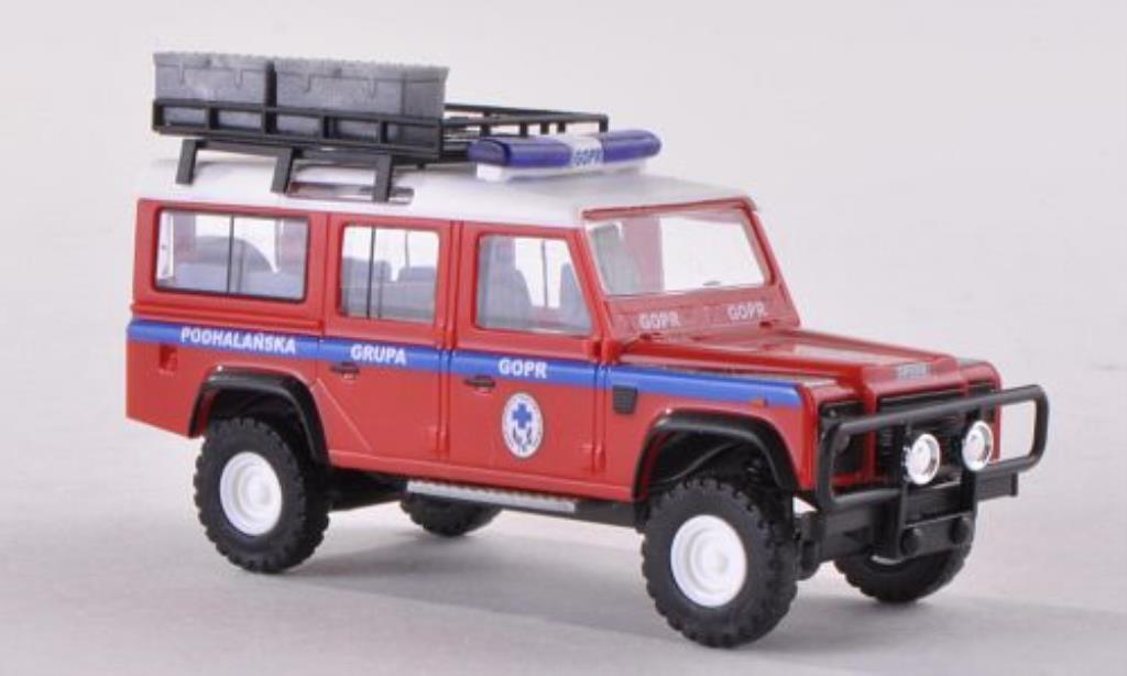 Land Rover Defender 1/87 Busch Podhalanska Grupa GOPR - Bergrettung Polen miniature