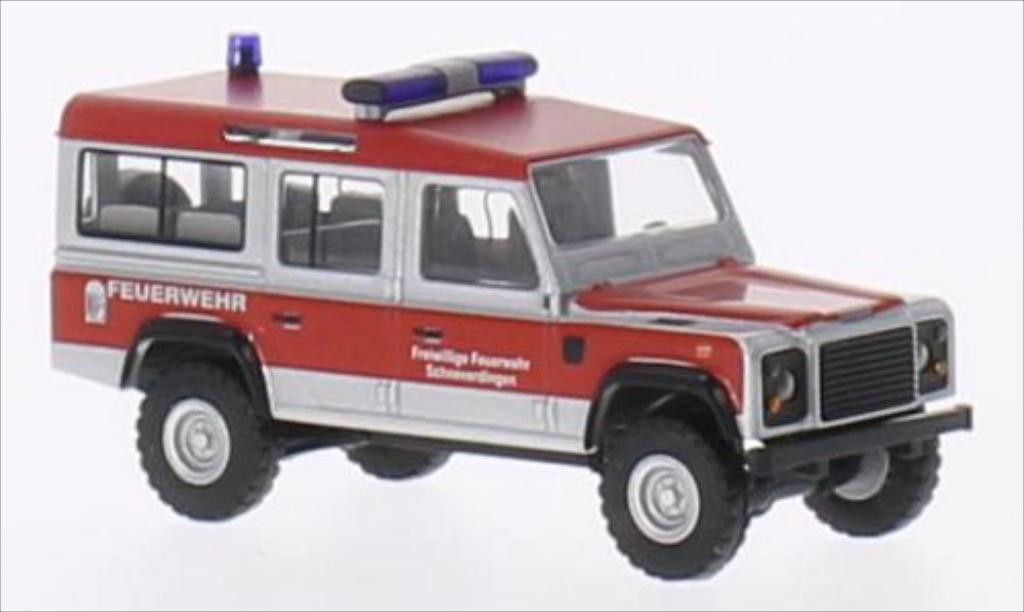 Land Rover Defender 1/87 Busch Schneverdingen 1983 miniature