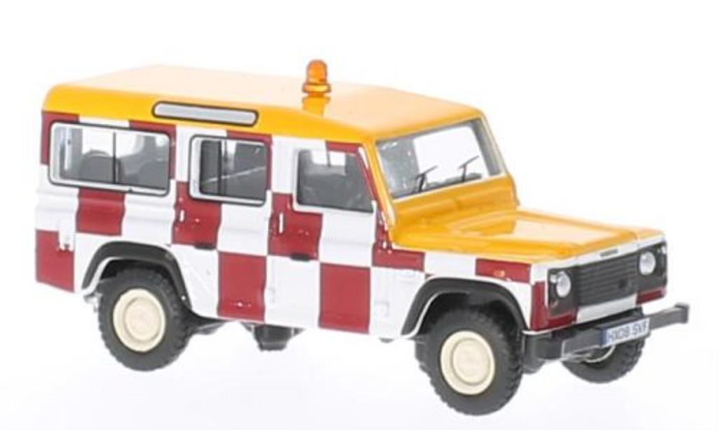 Land Rover Defender 1/76 Oxford Station Wagon RAF Northolt miniatura