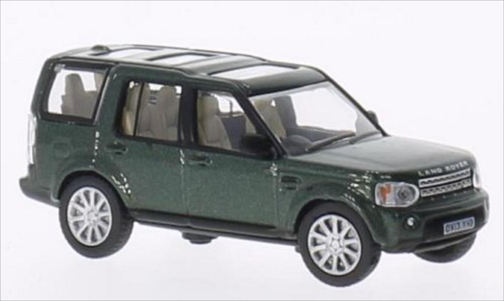 Land Rover Discovery 1/76 Oxford 4 metallise grun RHD miniature
