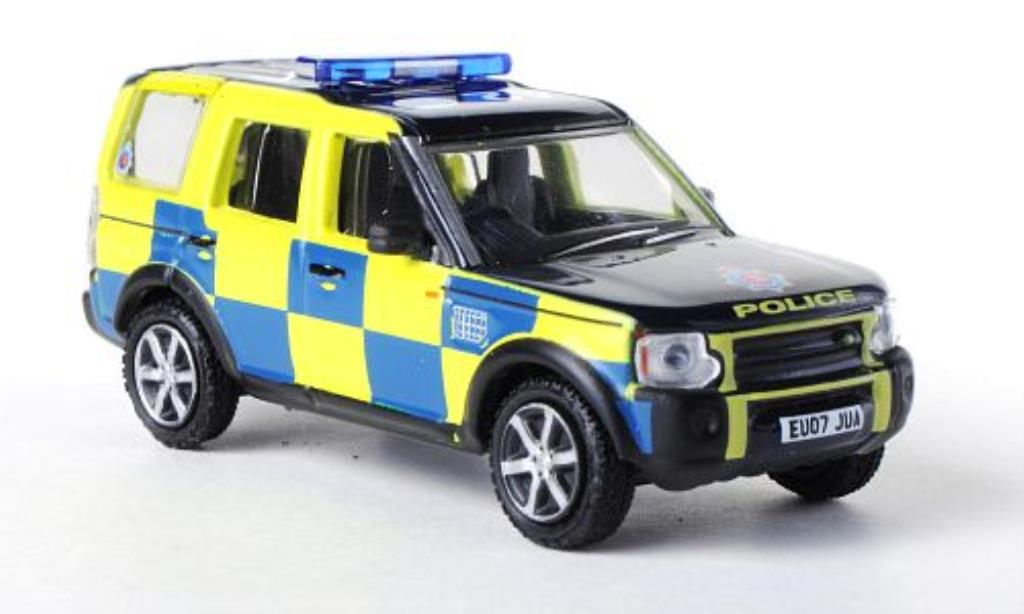 Land Rover Discovery 1/76 Oxford Essex Police Polizei (GB) miniature