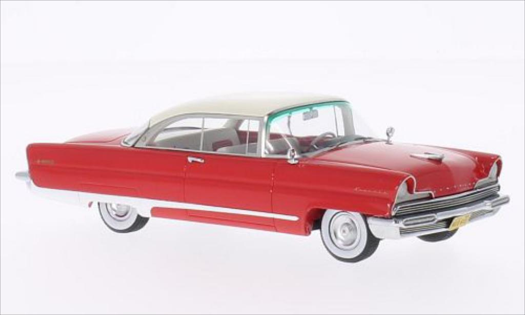 Lincoln Premiere 1/43 Neo Hardtop Coupe rouge/beige 1956 miniature