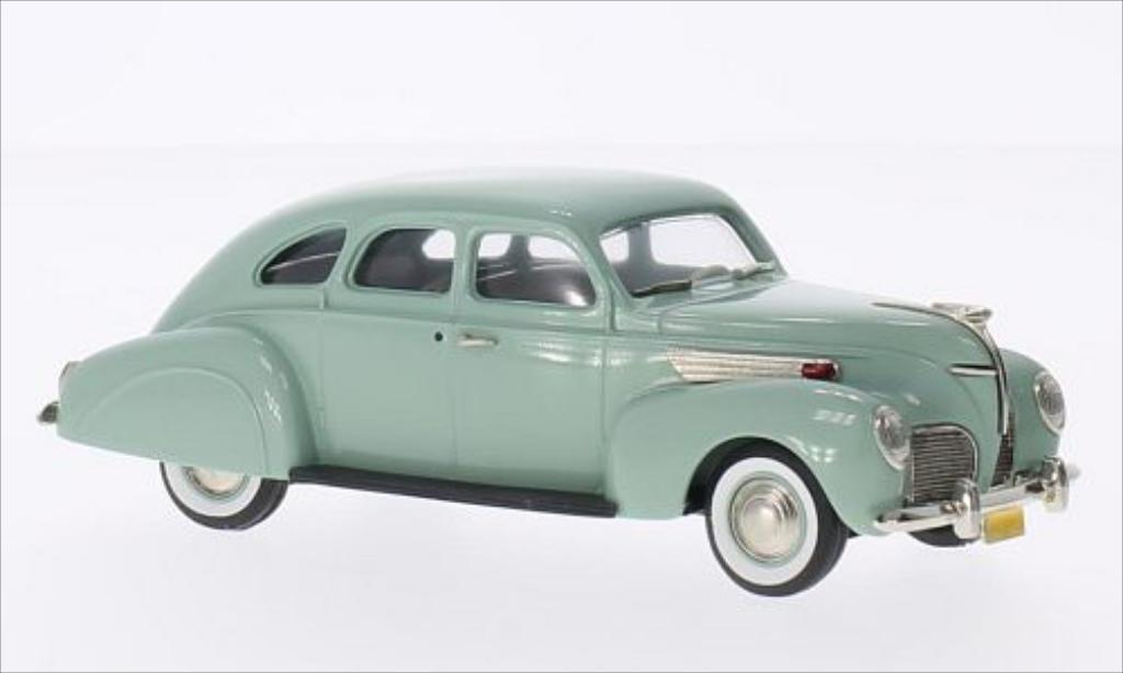 Lincoln Zephyr 1/43 Brooklin 2-door Sedan green 1938 diecast