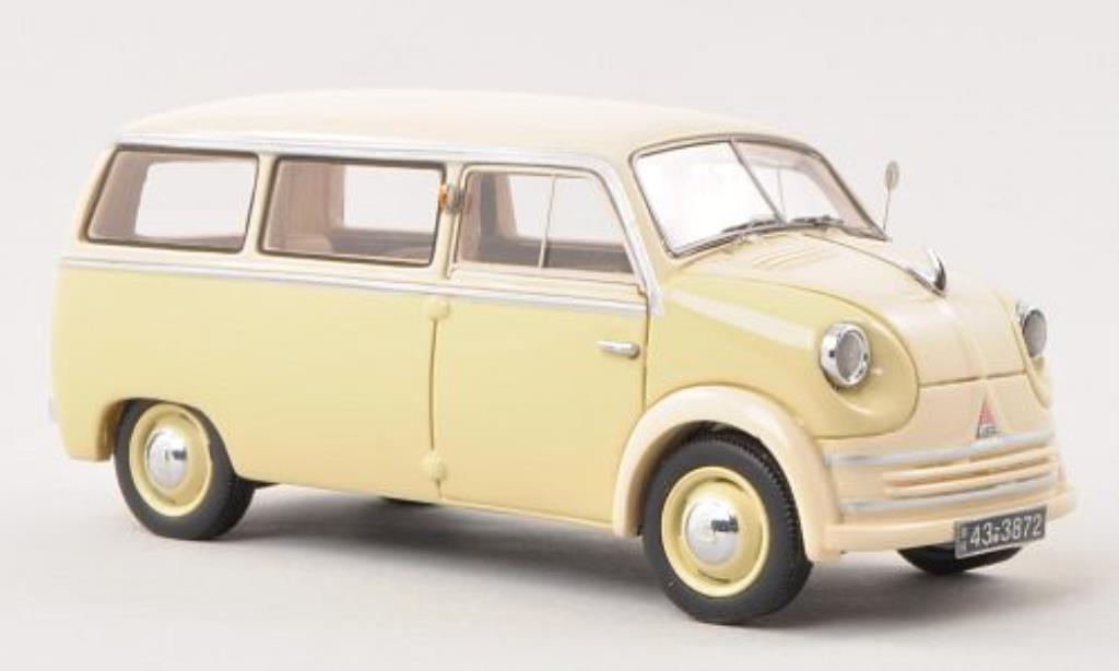 Lloyd LT 1/43 Neo 500/600 beige/beige 1955 miniature