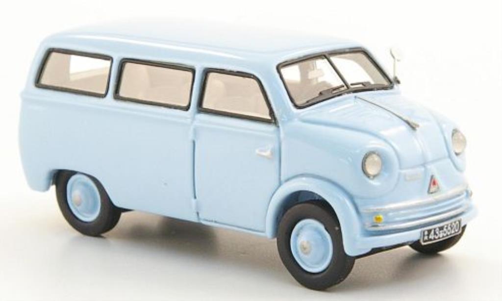 Lloyd LT 1/87 Neo 500 Bus bleu 1955 miniature
