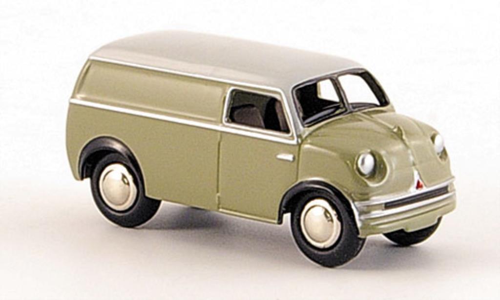 Lloyd LT 1/87 Bub 500 Kastenwagen grise miniature