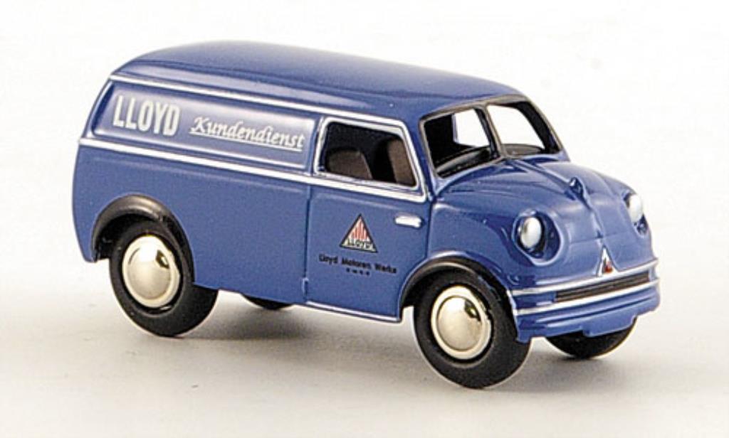 Lloyd LT 1/87 Bub 500 Kastenwagen -Kundendienst miniature