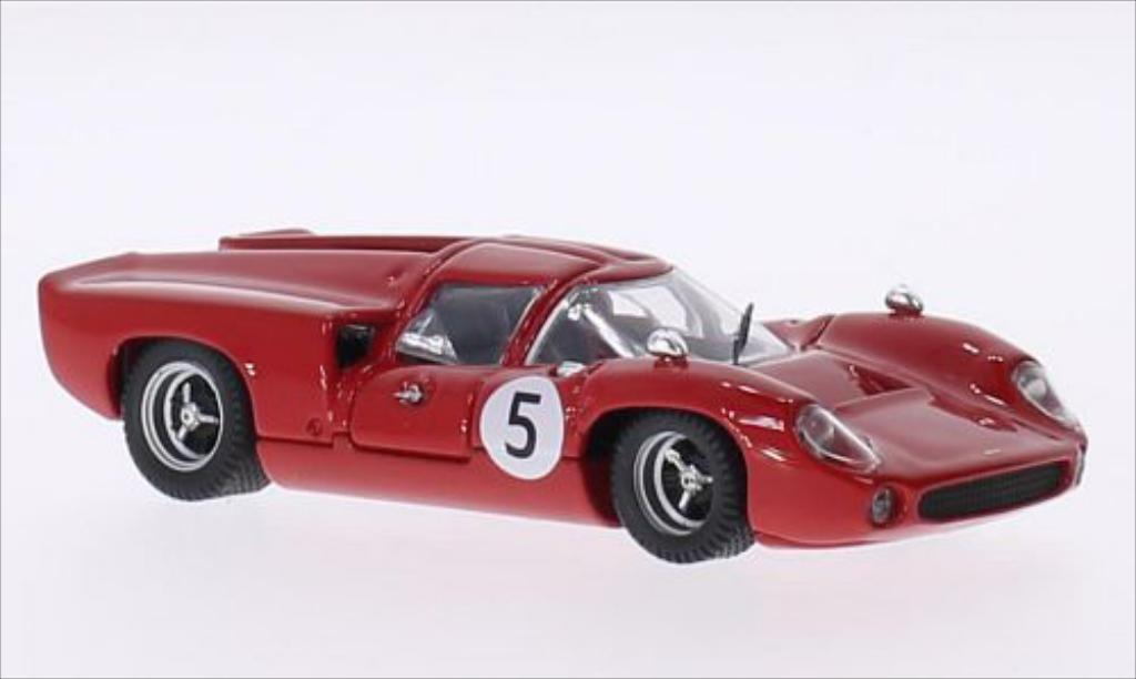 Lola T70 1/43 Best Coupe RHD No.5 GP Schweden 1967 miniature