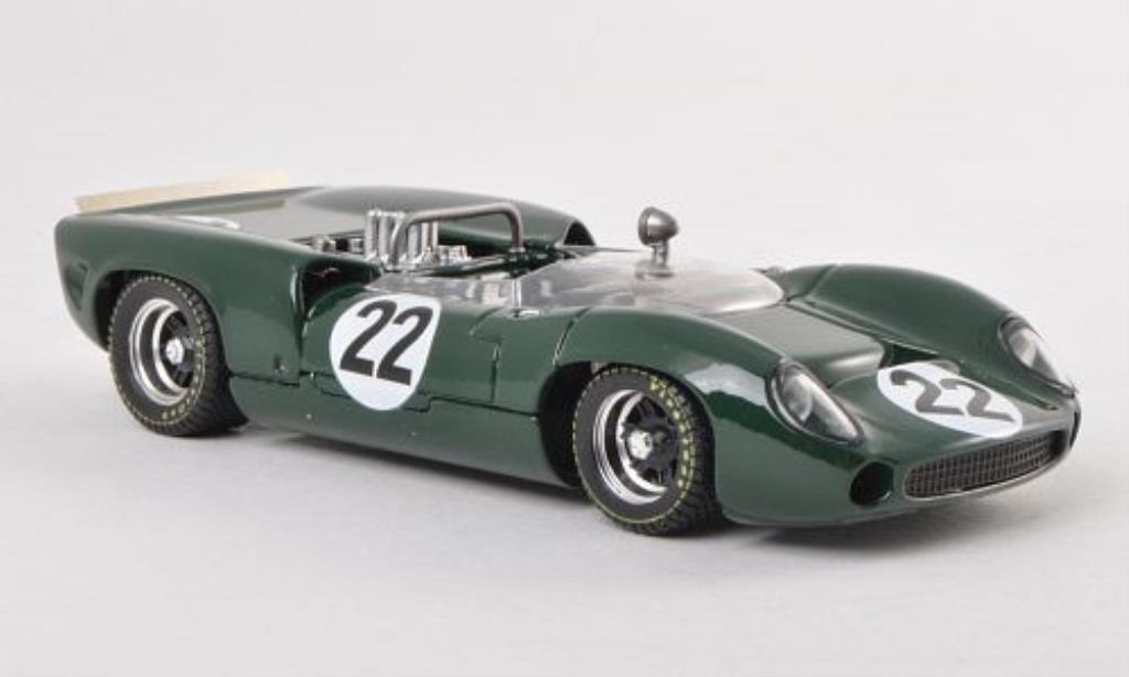 Lola T70 1/43 Best Spider No.22 H.Dibley Silverstone 1966 coche miniatura