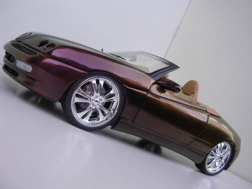 Alfa Romeo GTV 3.2 1/18 Maisto v6 24v spider peinture cameleon diecast