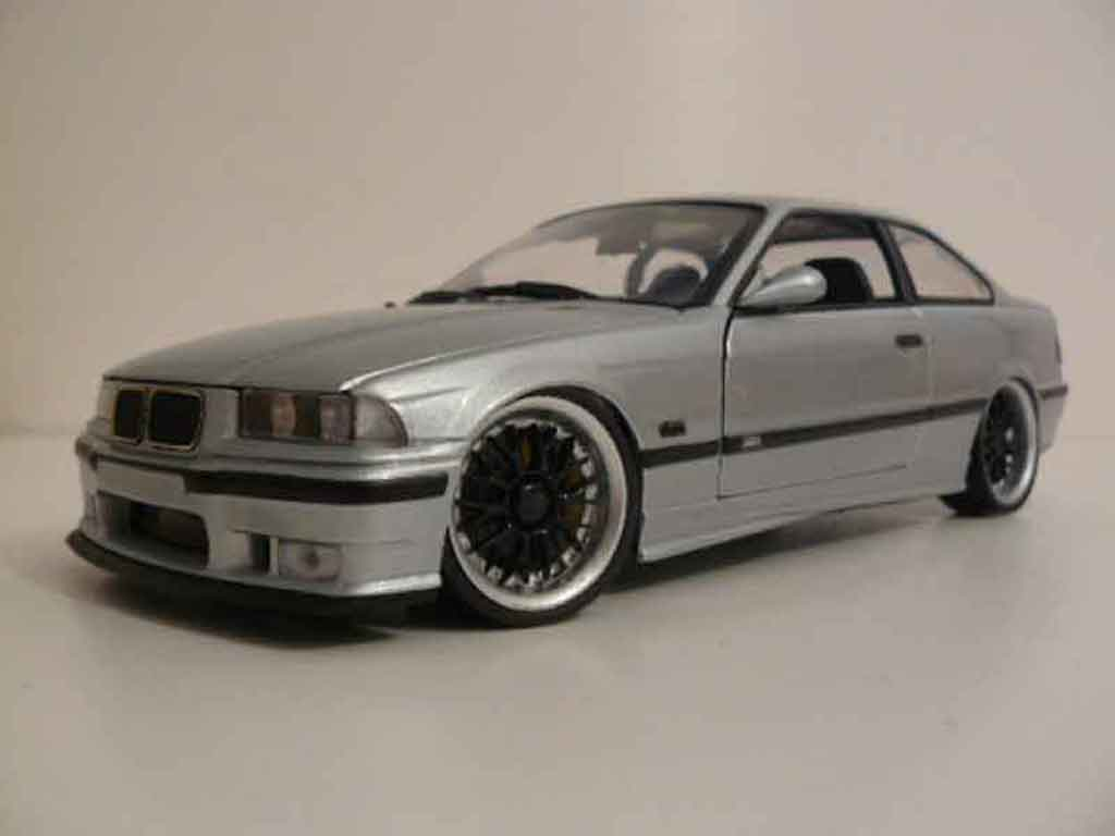 Bmw M3 E36 1/18 Ut Models grey jantes bbs diecast model cars
