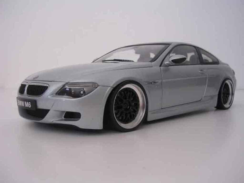 Bmw M6 E63 1/18 Kyosho jantes bbs 19 pouces diecast model cars