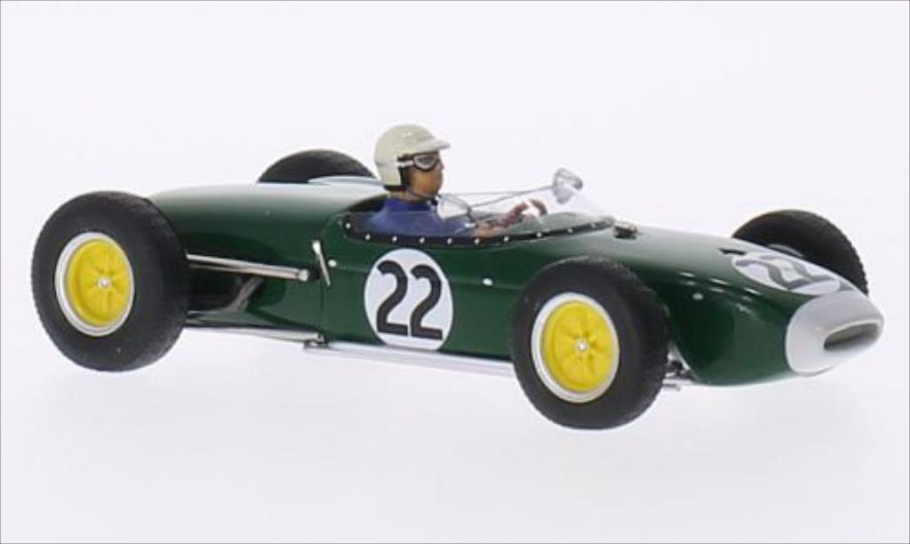 Lotus 18 1/43 Spark No.22 GP Frankreich 1960 miniature