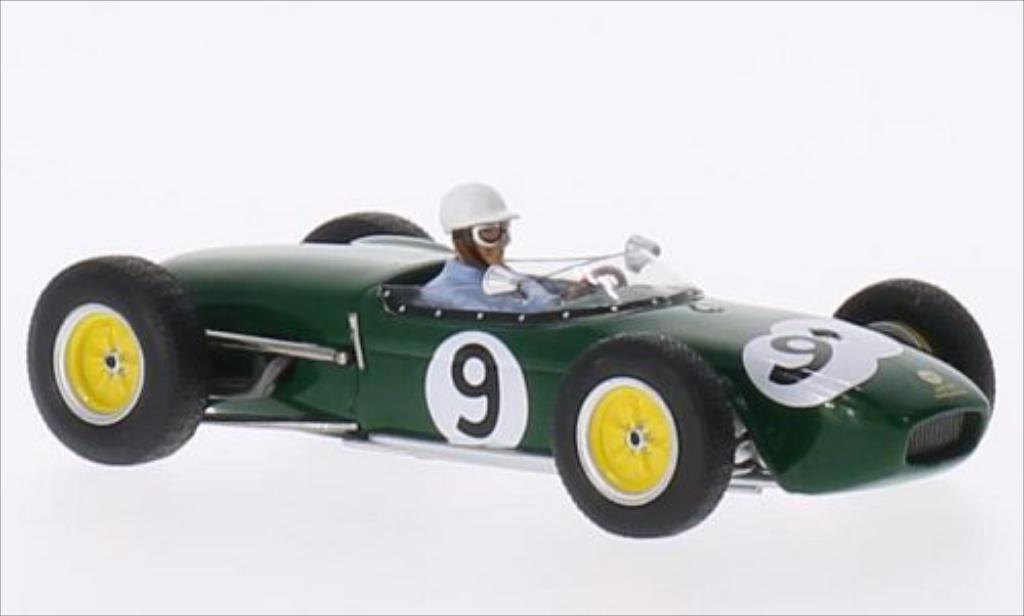Lotus 18 1/43 Spark No.9 Team Formel 1 GP Grossbritannien 1960 miniature