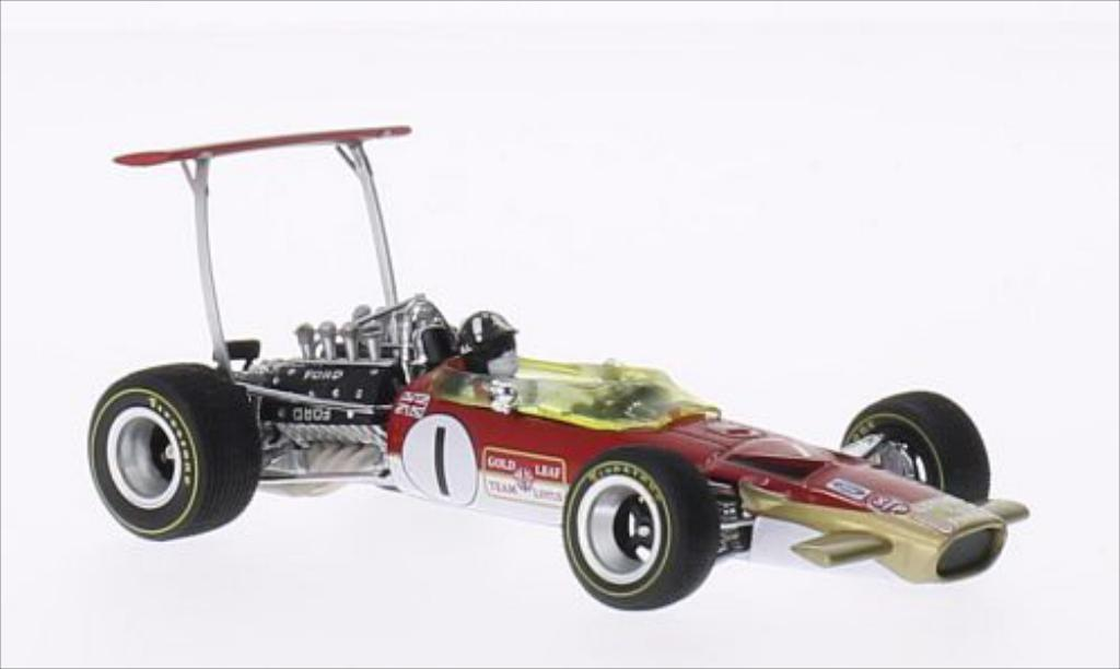 Lotus 49B 1/43 Quartzo No.1 Formel 1 GP Monaco 1969 miniature