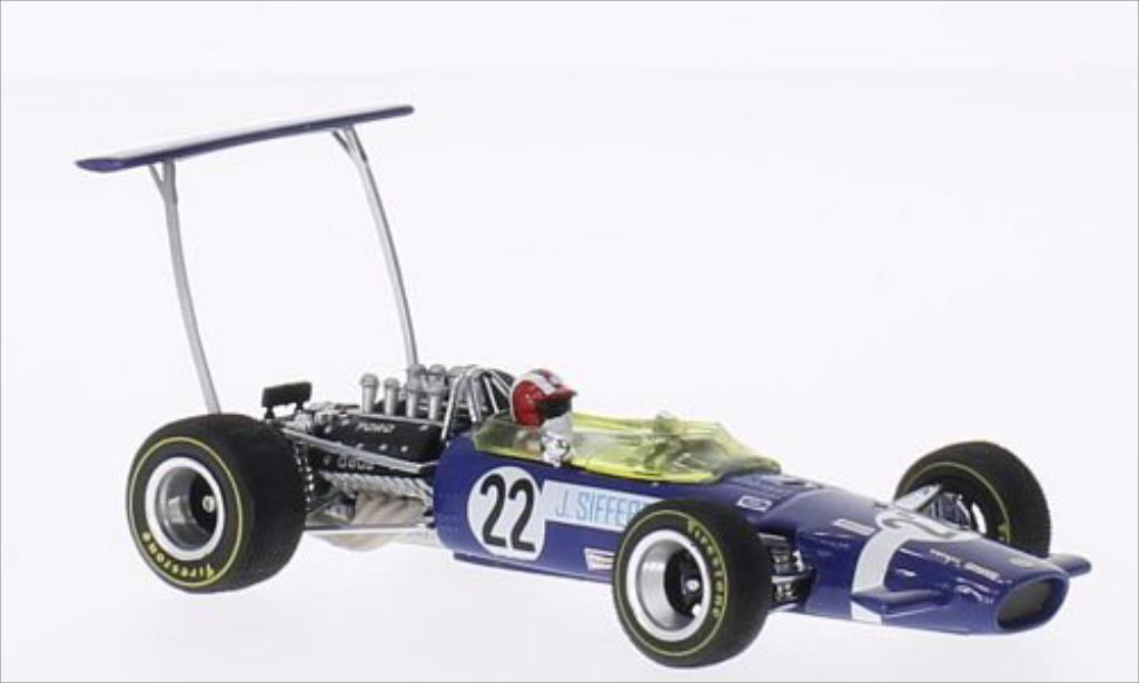 Lotus 49B 1/43 Quartzo No.22 Formel 1 GP Grossbritannien 1968 miniature