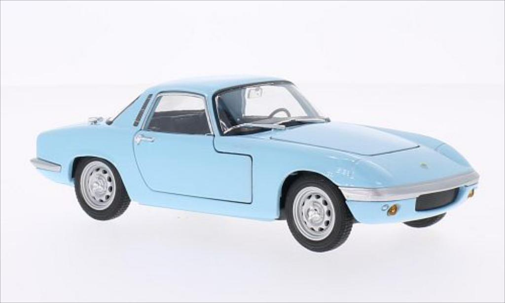 Lotus Elan 1/24 Welly bleu 1965 miniature
