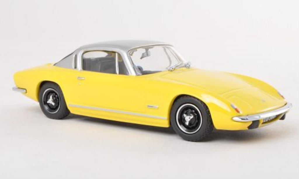 Lotus Elan 1/43 Oxford Plus 2 jaune/grise RHD miniature