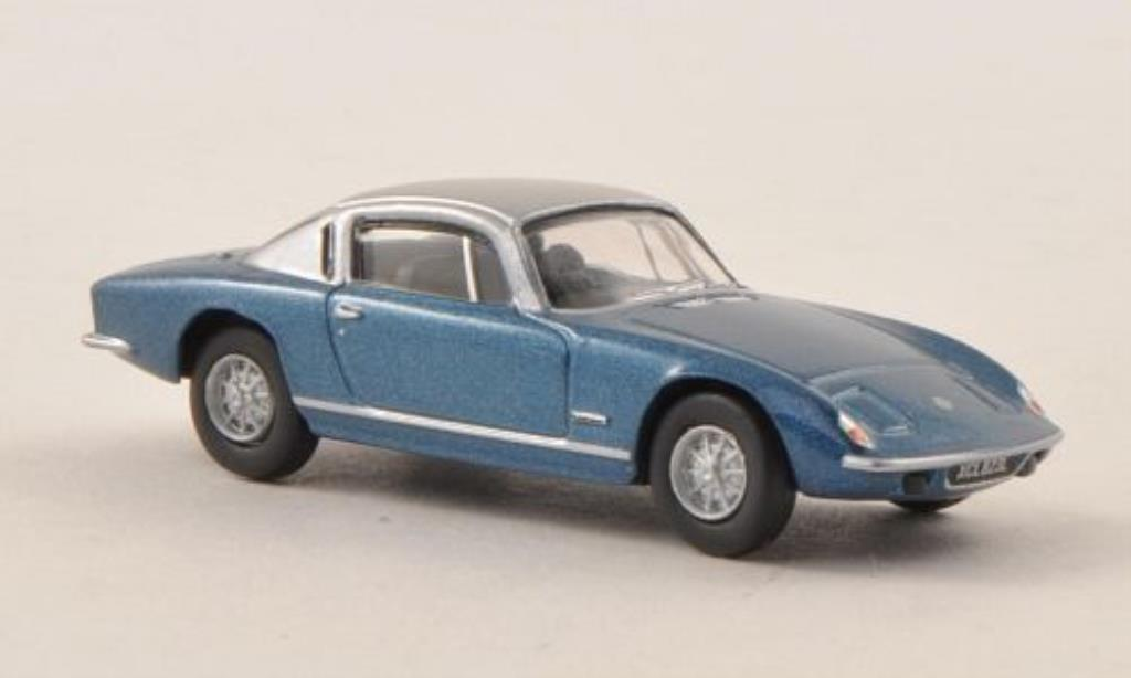 Lotus Elan 1/76 Oxford Plus 2 bleu/grise miniature