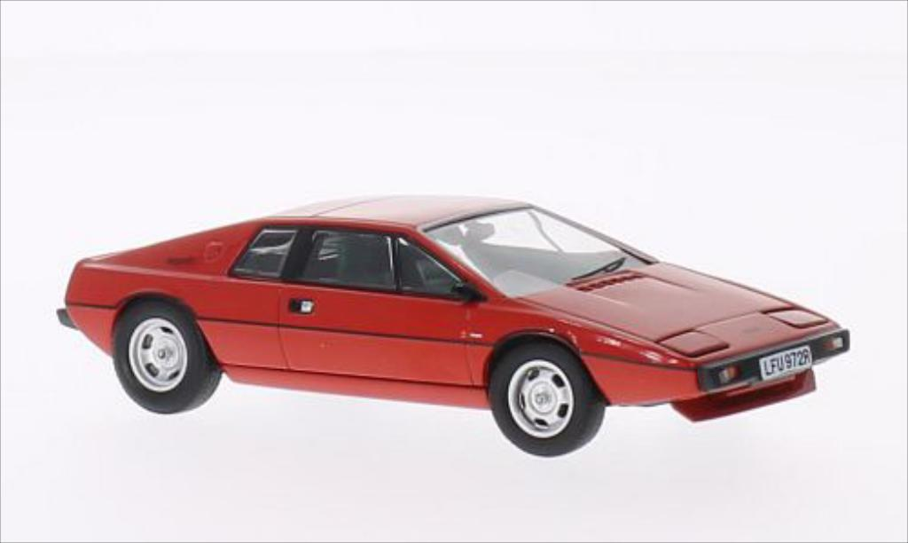 Lotus Esprit 1/43 Corgi S1 Chassis 0100G The First Production Esprit red red RHD diecast