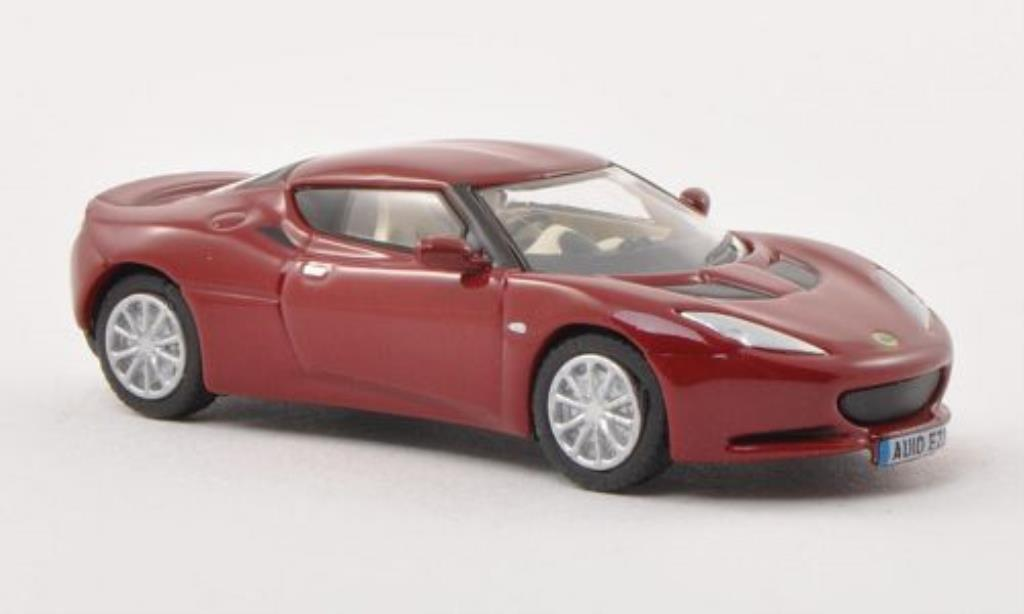 Lotus Evora S 1/76 Oxford rouge miniature