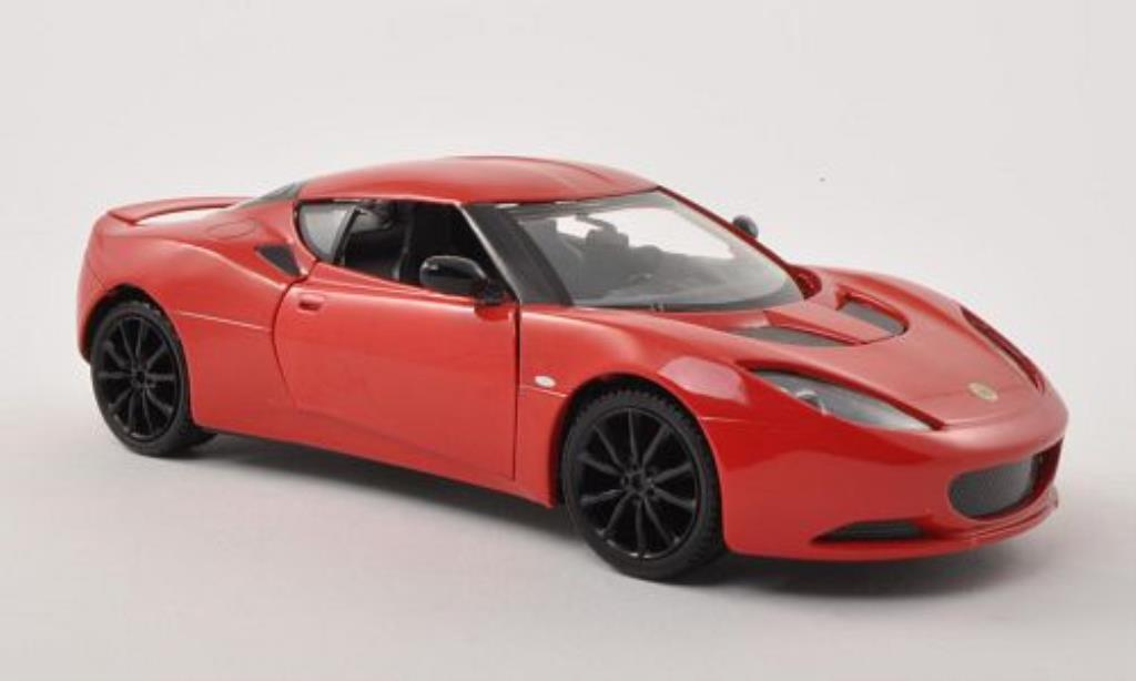 Lotus Evora S 1/24 Motormax rouge miniature