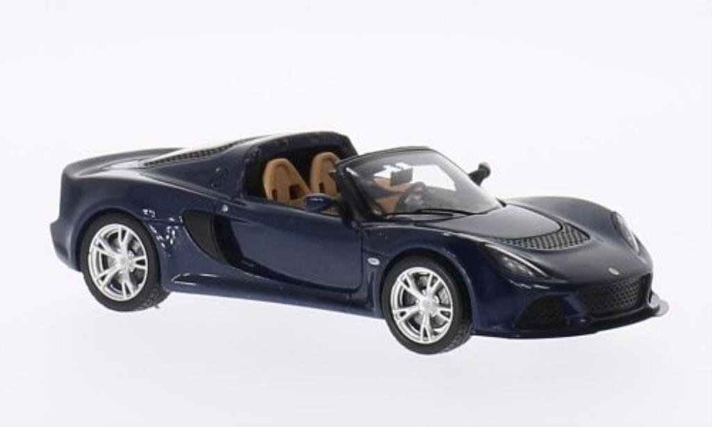 Lotus Exige 1/43 Spark S Roadster bleu 2013 miniature