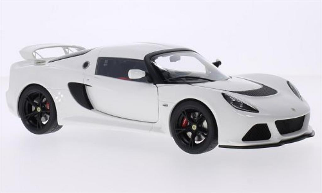 Lotus Exige 1/18 Autoart S white RHD 2012 diecast model cars
