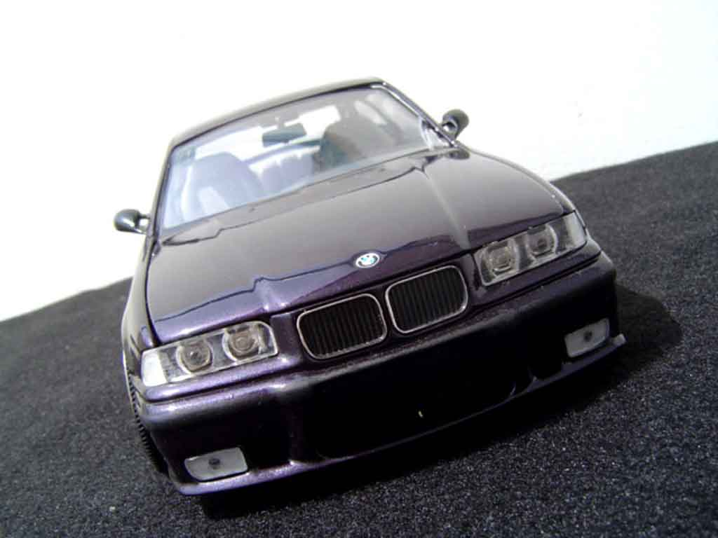 Bmw M3 E36 1/18 Ut Models peinture techno violet diecast model cars