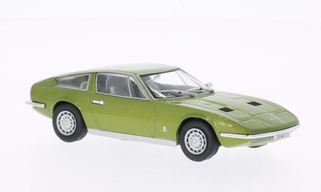 Maserati Indy 1/43 WhiteBox verte 1971 miniature