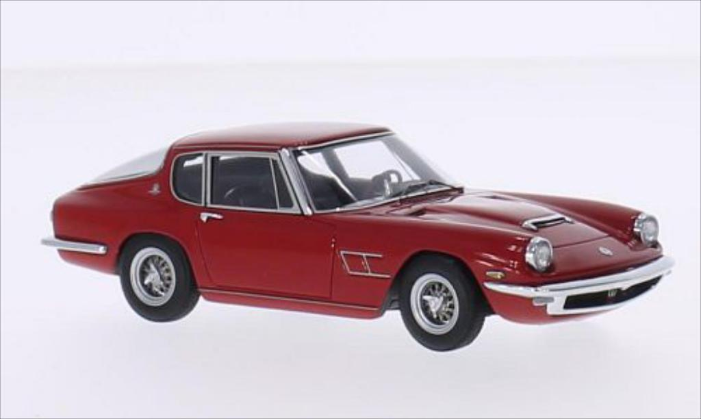 Maserati Mistral 1/43 Minichamps Coupe red 1963 diecast