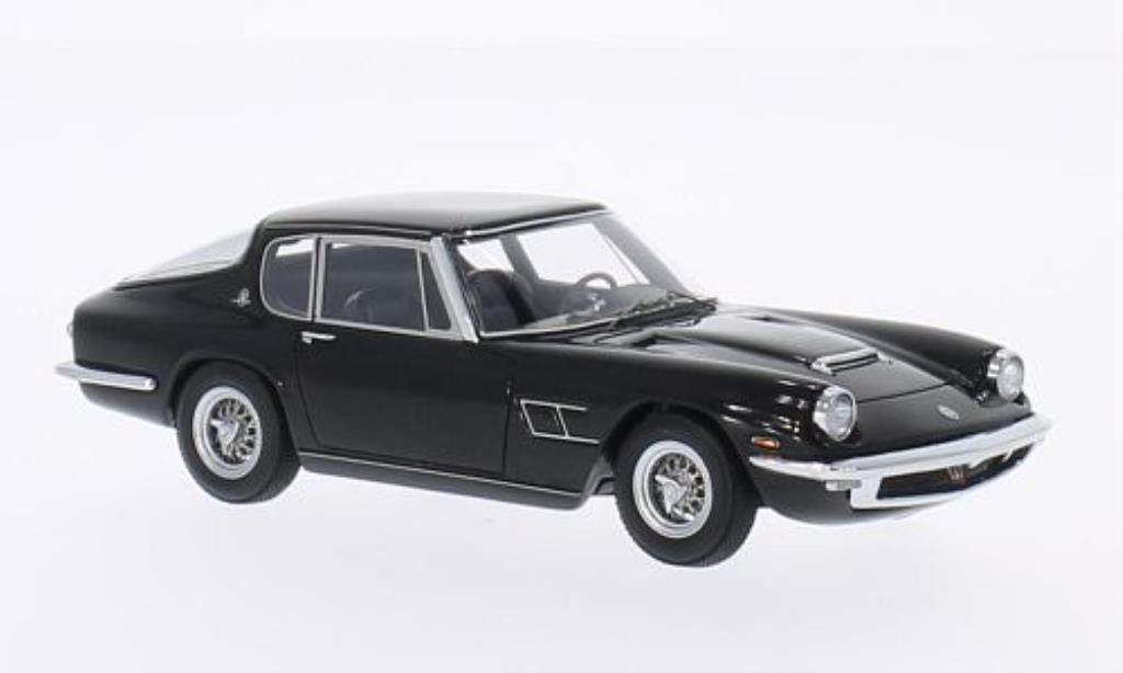 Maserati Mistral 1/43 Minichamps Coupe black 1963 diecast
