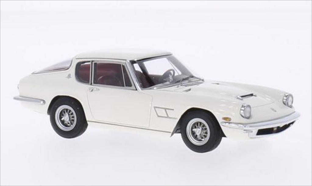 Maserati Mistral 1/43 Minichamps blanche 1963 miniature