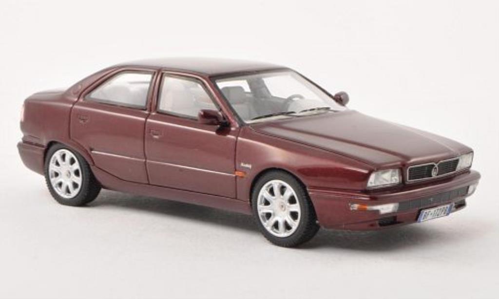 Maserati Quattroporte 1/43 Neo IV red 1994 diecast