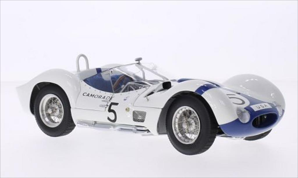 Maserati Tipo 1/18 CMC 61 Birdcage RHD No.5 1000 Km Nurburgring 1960 /D.Gurney miniature