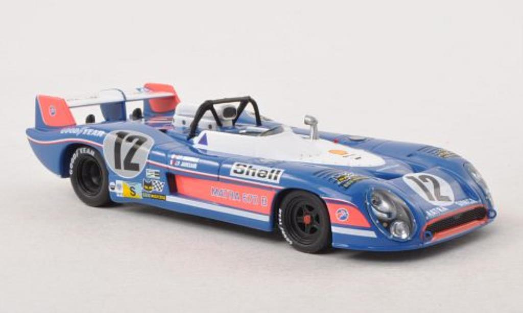 Matra MS670B 1/43 IXO No.12 24h Le Mans 1973 diecast model cars