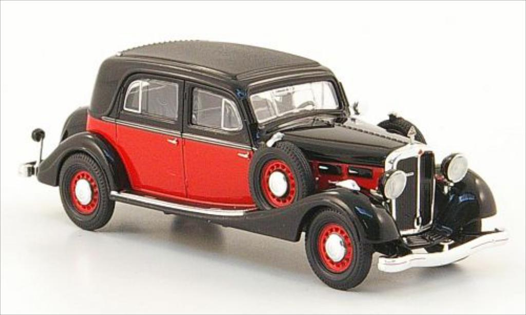 Maybach SW 1/87 Ricko 35 noire/rouge miniature