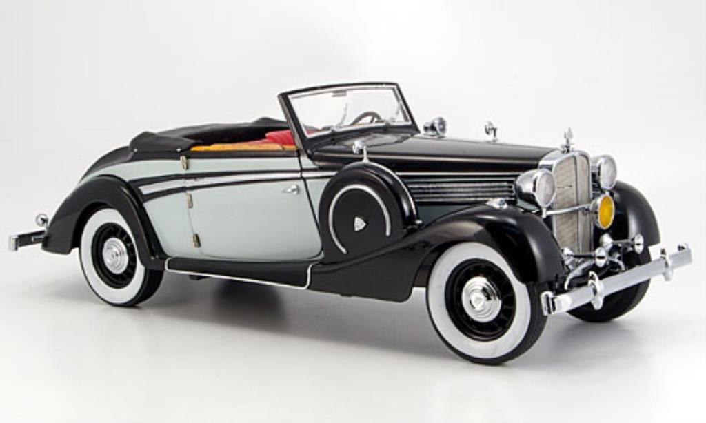 Maybach SW 1/18 Signature 38 Spohn grise/noire (Premium) 1937 miniature