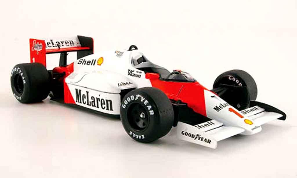 McLaren MP4-12C 1/18 Solido MP4 /2 c #1 alain prost 1986 miniature